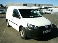Volkswagen Caddy 1.6TDI 102PS VAN DIESEL MANUAL WHITE (2015)