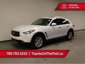 2012 Infiniti FX35 FX35; SUNROOF, AWD, LEATHER, HEATED/COOLED SE