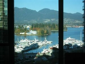 """Fully Furnished 1BR+Den Apartment - Coal Harbour - Vancouver"""