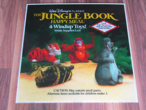 The Jungle Book Holographic Toy Display Sign