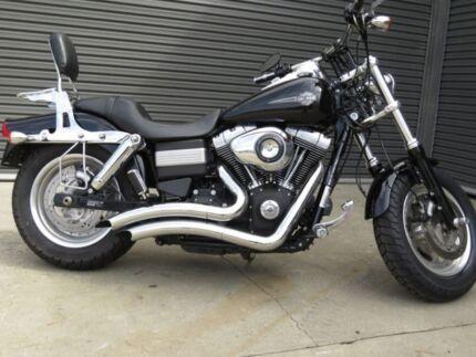 2013 Harley-Davidson DYNA FAT BOB 103 (FXDF) Road Bike 1690cc Geelong Geelong City Preview