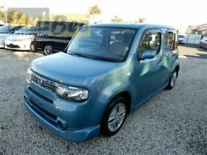 2010 Nissan Cube Z12 Blue Constant Variable Wagon Moorabbin Kingston Area Preview
