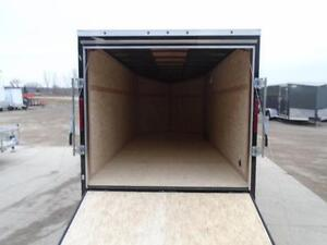 IN STOCK SPECIAL 2016 HAULIN 7X16' ENCLOSED CARGO - LOWEST PRICE London Ontario image 3