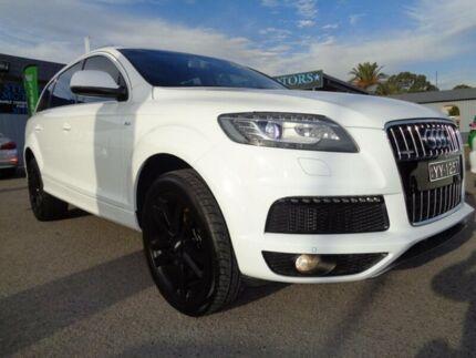2011 Audi Q7 MY11 3.0 TDI Quattro White 8 Speed Automatic Tiptronic Wagon