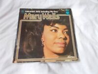Vinyl LP Mary Wells Greatest Hits MFP Sound Supers SPR 90008
