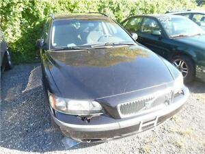 2003 Volvo V70 Wagon Loaded ,Black on Black Clarence price $1495