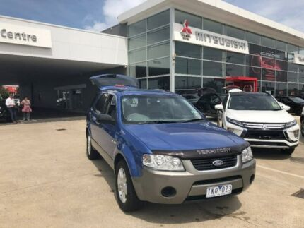 2004 Ford Territory SX TS AWD Blue 4 Speed Sports Automatic Wagon Hoppers Crossing Wyndham Area Preview