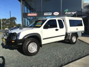 2011 Isuzu D-MAX TF MY10 SX (4x4) White 5 Speed Manual Spacecab Tuncurry Great Lakes Area Preview