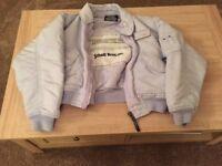 Ladies SCHOTT Bomber Jacket