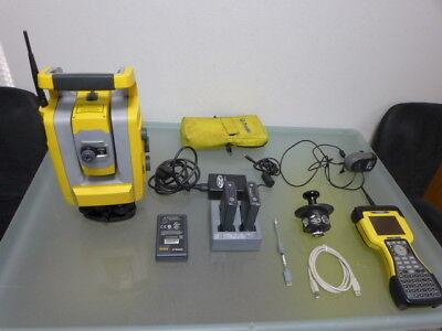 Trimble S3 5  Dr   Tsc2 Full Robotic Total Station One Man Kit