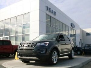 2017 Ford Explorer LIMITED, 300A, SYNC3, NAV, MOONROOF, HEATED/C