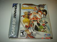 SUMMON NIGHT 2 GAMEBOY ADVANCE SEALED NEUF RARE