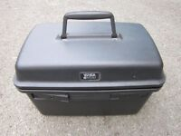Travel Box or Cosmetic box. Brand - Visa Delsey . Size : H=25cm , W=39cm , D=24cm .