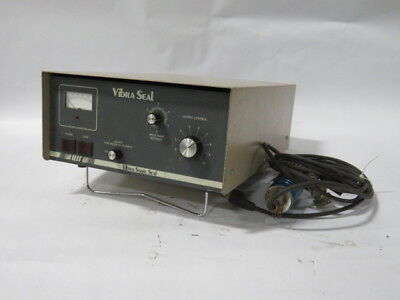 Ultrasonic Seal Hvs500-3 Vibraseal Welding Power Supply 500w 120v 10a Used