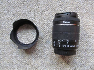 CANON EF-S 18-55MM 1:3.5-5.6 IS STM LENS OCCASION
