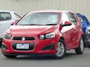 2014 Holden Barina TM MY15 CD Red 6 Speed Automatic Hatchback Diggers Rest Melton Area Preview