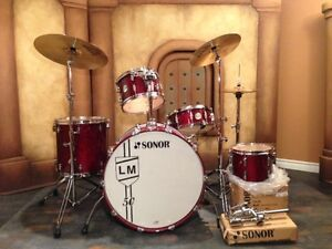 Sonor Force 3005 Maple L&M 50th Drum Kit - Absolutely Mint