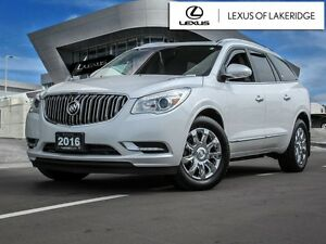 2016 Buick Enclave AWD, Premium, No Accidents, One Owner, NAVI