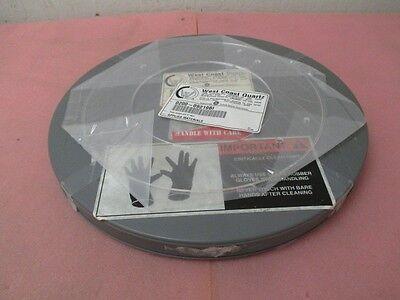 """AMAT 0200-09219 Ring Cover Quartz 5"""" MEC"""