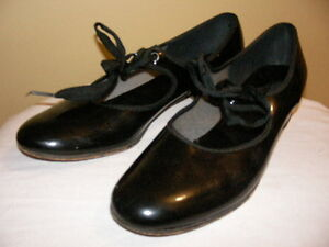 Capezio Black Leather Dance Shoes-Size 6 Regina Regina Area image 1