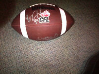 Wilson CFL Football Argos Brown and Crawford signed 2008