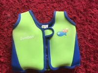 SwimBest kids swimming vest / jacket size 18 - 36 months in lime green