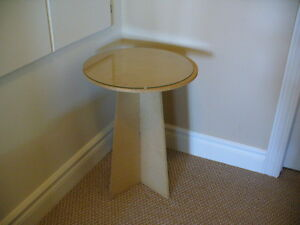 Occasional decorator side table