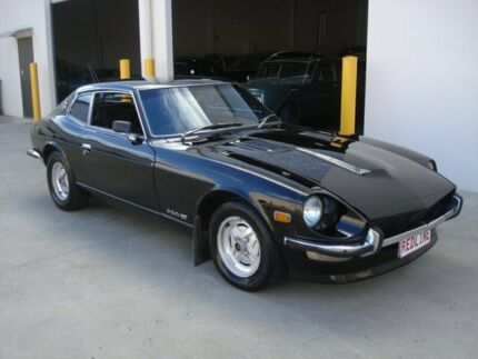 1975 Datsun 260Z 2+2 Black 4 Speed Automatic Coupe Brompton Charles Sturt Area Preview