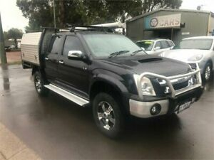 2011 Isuzu D-MAX TF MY10 LS-U (4x4) Black 4 Speed Automatic Crew Cab Utility Margaret River Margaret River Area Preview