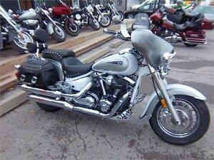 04 YAMAHA ROAD STAR CLASSIC 1700 LOADED WITH OPTIONS!