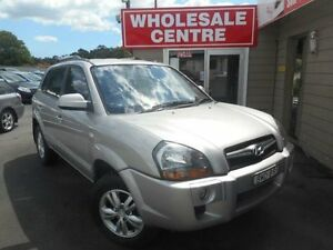 2009 Hyundai Tucson 08 Upgrade City SX Silver 5 Speed Manual Wagon Edgeworth Lake Macquarie Area Preview