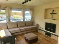 2 bedroom caravan for sale on beachfront holiday park near Scottish Borders