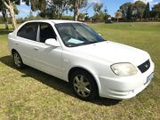 2003 Hyundai Accent LC GL White 4 Speed Automatic Sedan East Rockingham Rockingham Area Preview