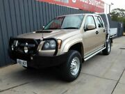 2009 Holden Colorado RC MY09 LX Crew Cab Beige 5 Speed Manual Cab Chassis Blair Athol Port Adelaide Area Preview