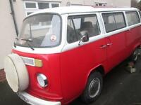 1973 VW T2 BAY CLASSIC CAMPERVAN FOR SALE