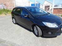 2012 Ford Focus 1.6 ECOnetic Diesel Estate Car MOT'd Feb F.S.H £3695