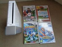 Nintendo Wii Console and games-(Cheadle Hulme)