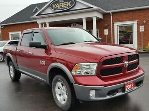 2013 Ram 1500 Outdoorsman 4x4, Crew Cab, V6, Bluetooth, Back-Up