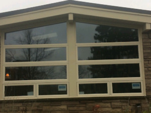 capping windows with aluminum damaged vinyl aluminum capping window door and glass services in ontario