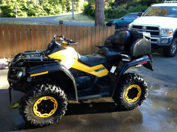 Used 2012 Can-Am Outlander 800R Max XT-P