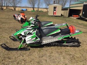 2013 M1100 Arctic Cat with Factory Turbo