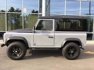 1997 LAND ROVER DEFENDER 90 5 SPEED MANUAL CONVERTIBLE HARD TOP