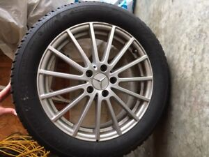Mercedes GLA250  snow tires and rims for sale