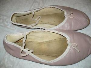Ballet Slippers-Fit about a size 8.5 or 9 street shoe size
