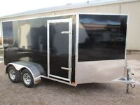 ALL ALUMINUM 6 x 12 V-Nose Trailer,3 year Warranty Canadian made