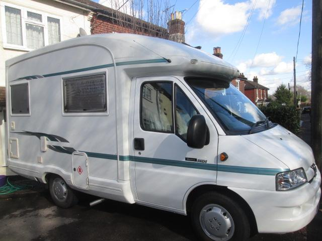 Auto Sleepers For Sale Gumtree: 2003 AUTOSLEEPER NUEVO ES TWO BERTH MOTORHOME FOR SALE