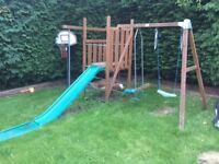 TP Kids Climbing frame and swing set
