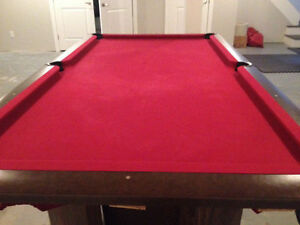 Brunswick 130th Anniversary Edition Pool Table