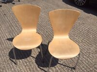 WOODEN DINING CHAIRS | £14.95