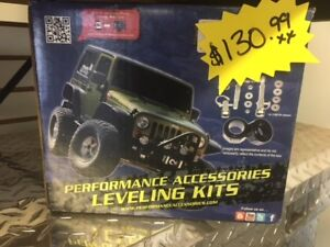 NEW Performance Accessories JK Leveling Kit (JL100PA)